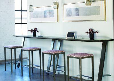Delen Bar Table collab
