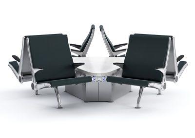 Flyaway 6 Seat Cluster w-inpower flex